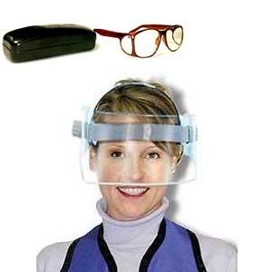 glasses and visors