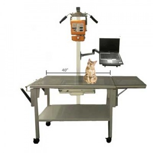 vv100 feline mobile exam x-ray table